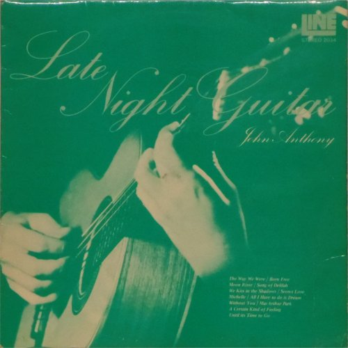 John Anthony<BR>Late Night Guitar<br>LP