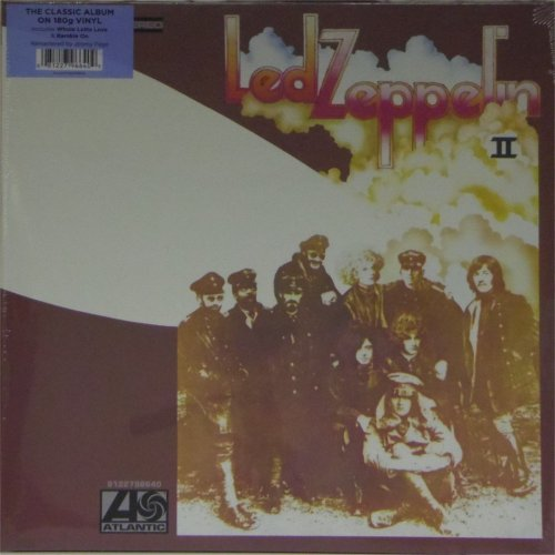 Led Zeppelin<br>Led Zeppelin II<br>(New 180 gram re-issue)<br>LP