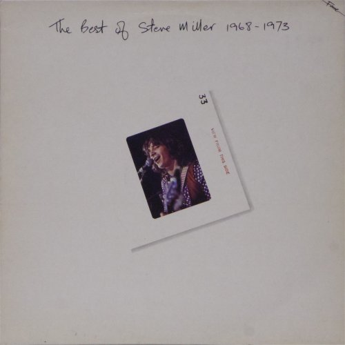Steve Miller Band<br>The Best of Steve Miller (1968-1973)<br>LP