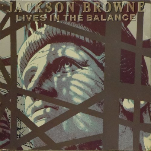 Jackson Browne<BR>Lives In The Balance<br>LP