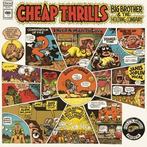 Janis Joplin<br>Cheap Thrills<br>(New 180 gram re-issue)<br>LP