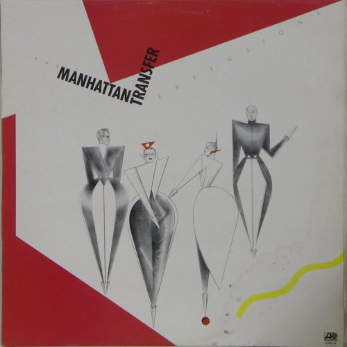 The Manhattan Transfer<br>Extensions<br>LP