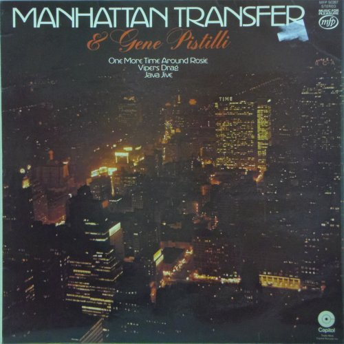 The Manhattan Transfer<br>And Gene Pistilli<br>LP