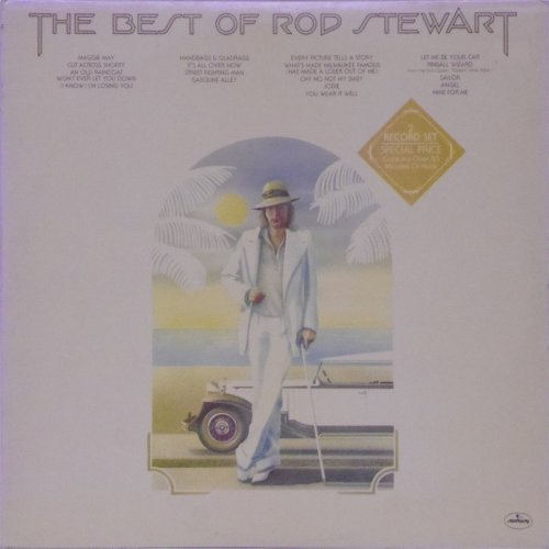 Rod Stewart<br>The Best of Rod Stewart<br>Double LP