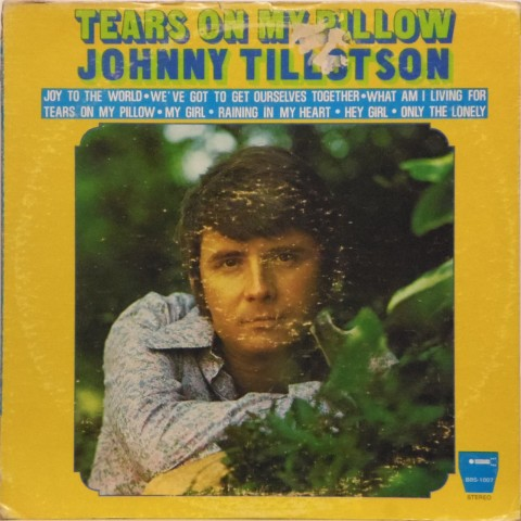 Johnny Tillotson<br>Tears on My Pillow<br>LP