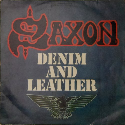 Saxon<br>Denim and Leather<br>LP