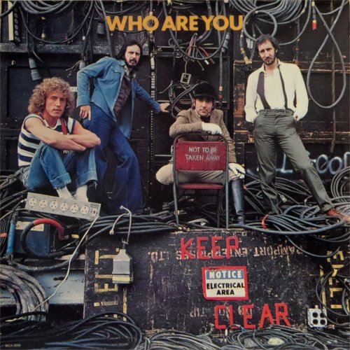 The Who<br>Who Are You<br>LP