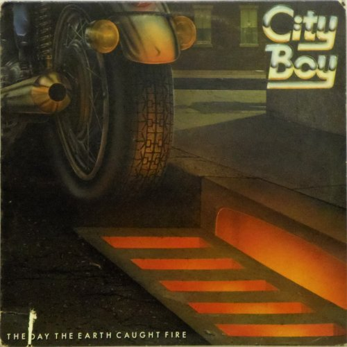 City Boy<BR>The Day The Earth Caught Fire<br>LP