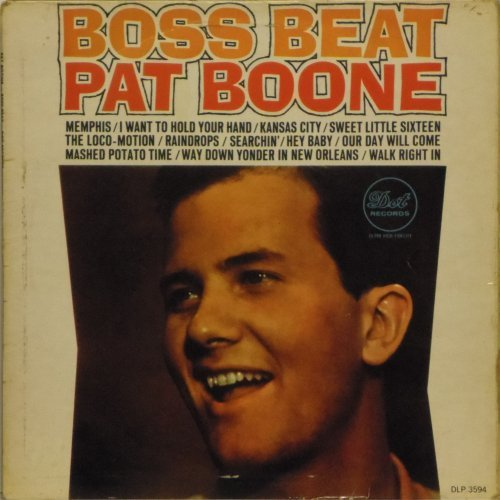 Pat Boone<BR>Boss Beat<br>LP