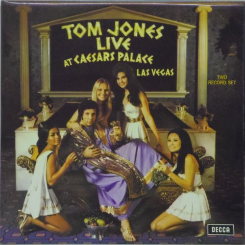 Tom Jones<br>Live at Caesars Palace<br>Double LP