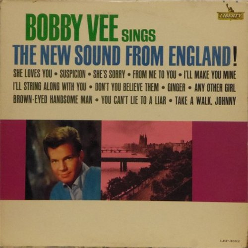 Bobby Vee<br>The New Sound From England<br>LP