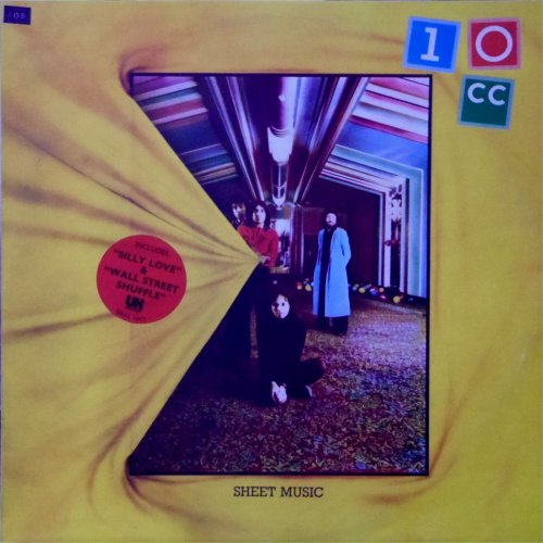 10cc<br>Sheet Music<br>LP