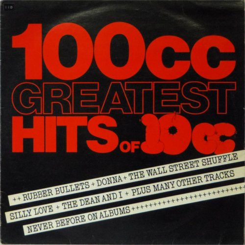 10cc<br>100cc Greatest Hits of 10cc<br>LP