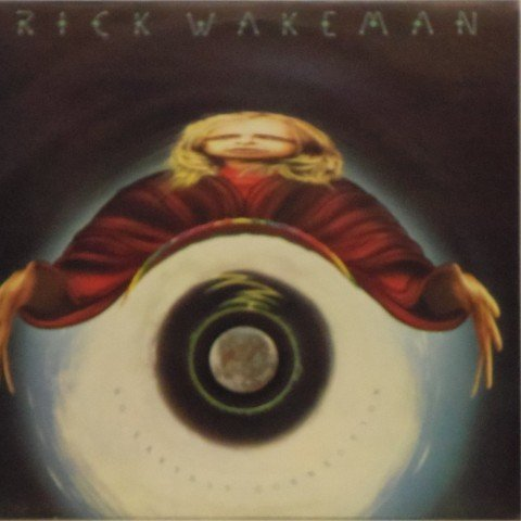 Rick Wakeman<br>No Earthly Connection<br>LP
