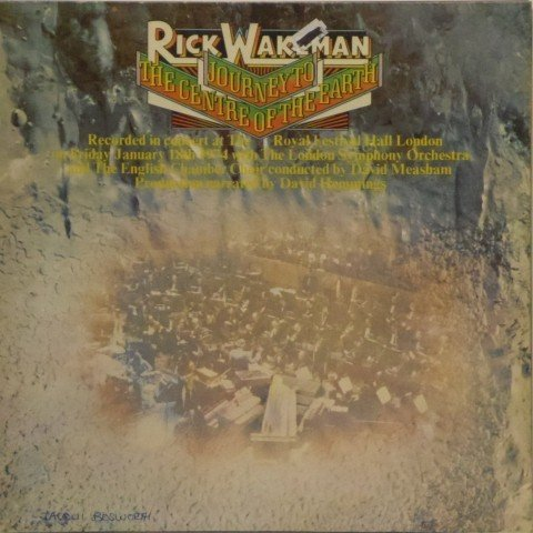 Rick Wakeman<br>Journey To the Centre of the Earth<br>LP