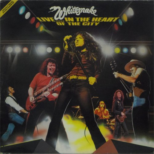 Whitesnake<br>Live In The Heart of the City<br>Double LP