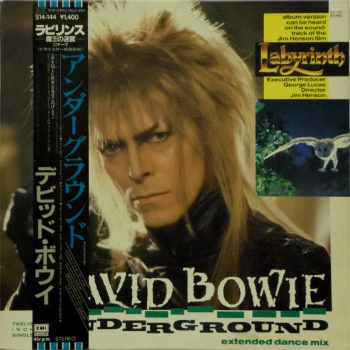 David Bowie<br>Underground (Japanese Promo)<br>12&quot; single