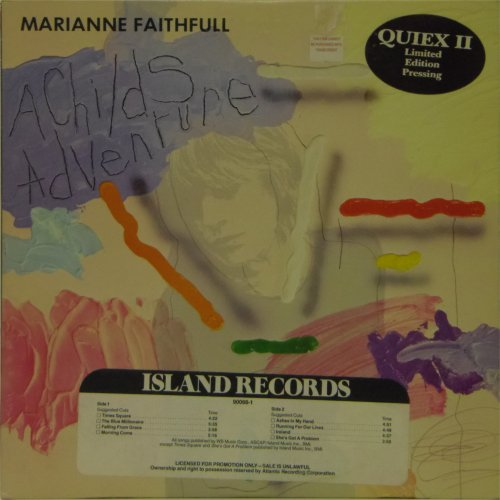 Marianne Faithfull<br>A Child's Adventure (Promo)<br>LP
