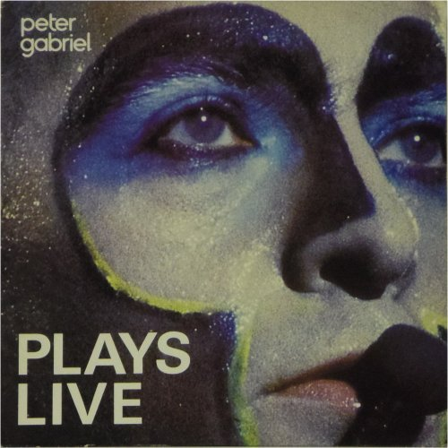 Peter Gabriel<br>Plays Live<br>Double LP