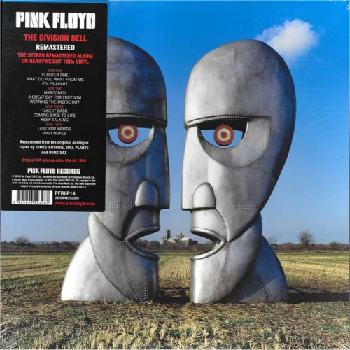 Pink Floyd<br>The Division Bell<br>(New 180 gram re-issue)<br>Double LP