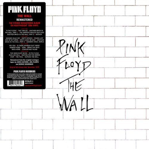 Pink Floyd<br>The Wall<br>(New 180 gram re-issue)<br>Double LP