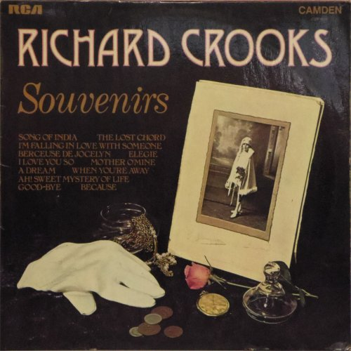 Richard Crooks<BR>Souvenirs<br>LP
