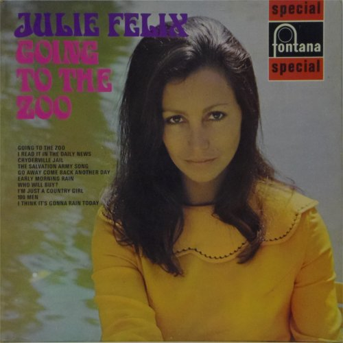 Julie Felix<br>Going To The Zoo<br>LP