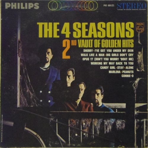 The Four Seasons<BR>2nd Vault of Golden Hits