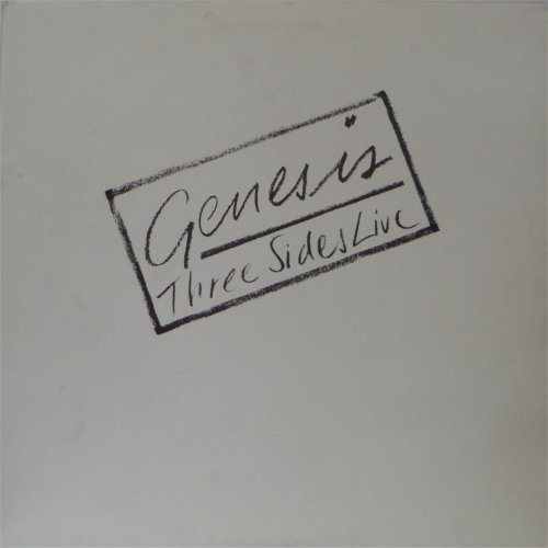 Genesis<br>Three Sides Live<br>Double LP