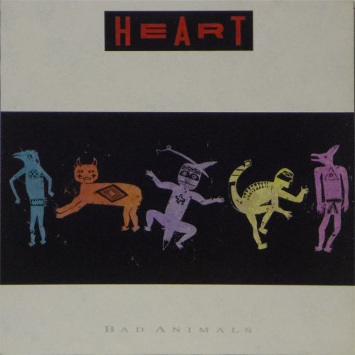 Heart<br>Bad Animals<br>LP