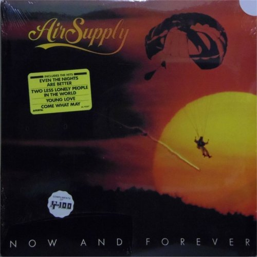 Air Supply<br>Now and Forever<br>LP