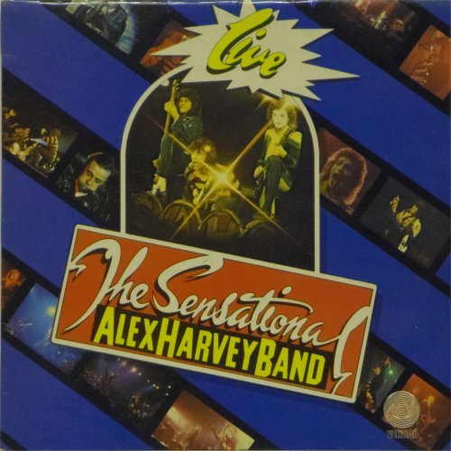 Sensational Alex Harvey Band<br>Live<br>LP