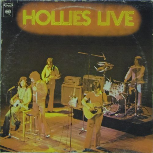 The Hollies<br>Hollies Live<br>LP