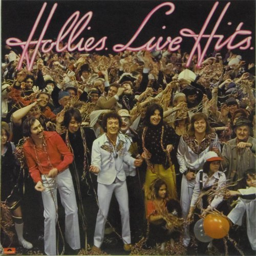 The Hollies<br>Hollies Live Hits<br>LP