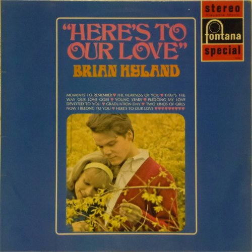 Brian Hyland<br>Here's To Our Love<br>LP