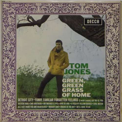 Tom Jones<br>Green Grass of Home<br>LP