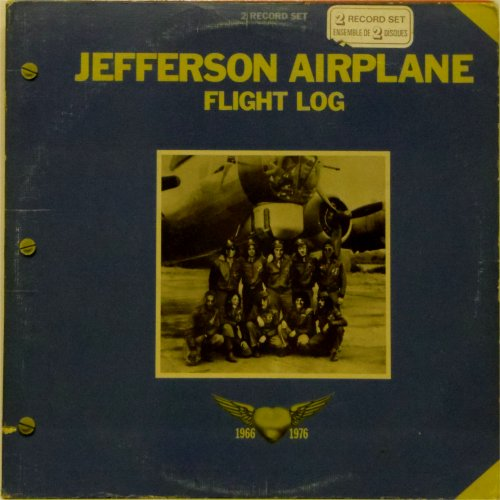 Jefferson Airplane<br>Flight Log<br>Double LP