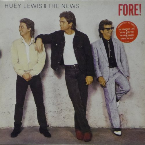 Huey Lewis & The News<br>Fore<br>LP