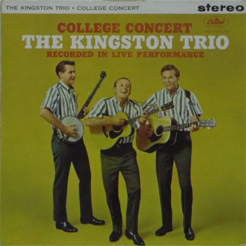 The Kingston Trio<br>College Concert<br>LP
