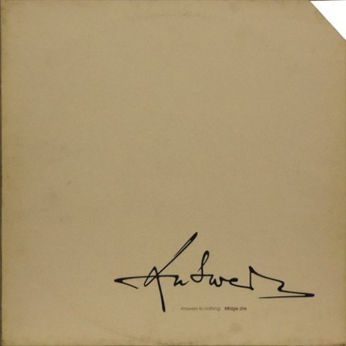 Midge Ure<br>Answers To Nothing<br>LP