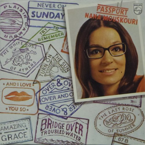 Nana Mouskouri<br>Passport<br>LP