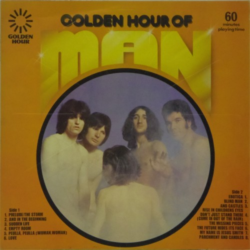 Man<br>Golden Hour of Man<br>LP