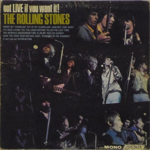 The Rolling Stones<br>Got Live If You Want It (Mono)<br>LP