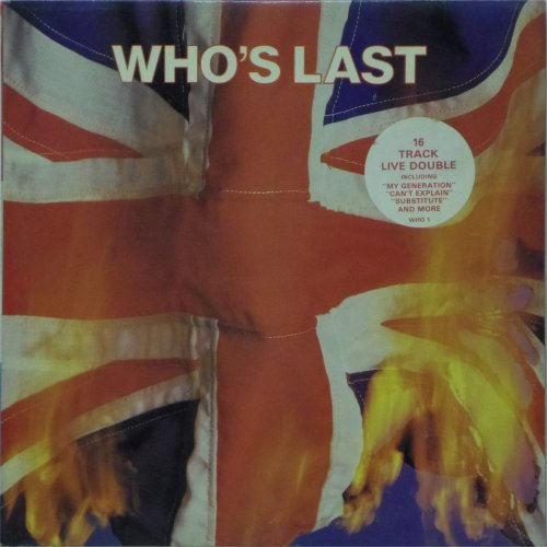 The Who<br>Who's Last<br>Double LP