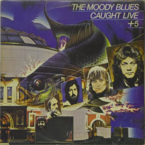 The Moody Blues<br>Caught Live Plus Five<br>Double LP