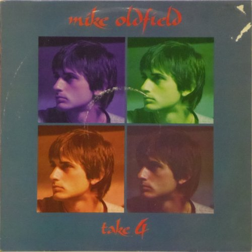 Mike Oldfield<br>Take Four<br>12&quot; single (white vinyl)