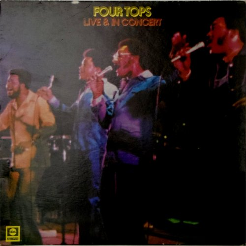 The Four Tops<br>Live And In Concert<br>LP