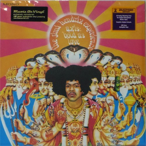 Jimi Hendrix<BR>Axis Bold as Love<br>(New 180 gram re-issue)<br>LP