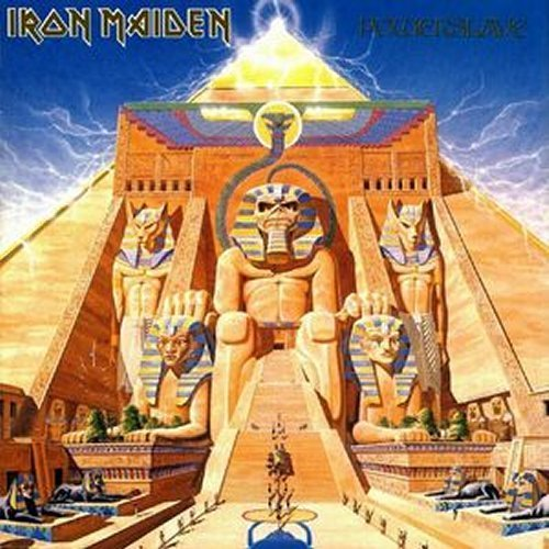 Iron Maiden<br>Powerslave<br>(New 180 gram re-issue)<br>LP