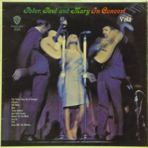 Peter Paul & Mary<br>In Concert Volume 1<br>LP
